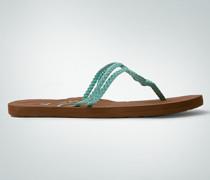 Damen Schuhe Zehensandale mit Flechtdetail