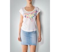 Damen T-Shirt mit Papageienprint