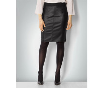 Damen Rock Pencilskirt in Metallic-Optik