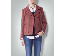 Damen Blazer in Tweed-Optik