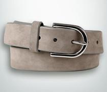 Damen Gürtel Breite ca. 35 mm taupe