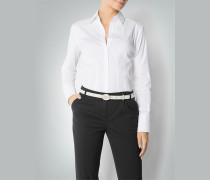 Damen Bluse mit Zier-Knopfleiste