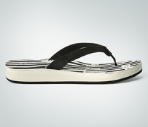 Damen Schuhe Zehensandalen mit markanter Sohle