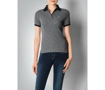 Damen Polo-Shirt im Punkte Dessin