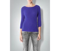 Damen Pullover im Angora-Mix in Trendfarbe