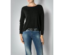 Damen Pullover mit Spitzendetail