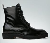 Damen Schuhe Schnürstiefeltte aus Brushleder