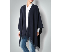 Damen Pullover Poncho aus Wolle