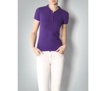 Damen Polo-Shirt in kräftigem Violett