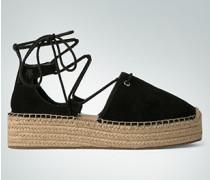 Damen Schuhe Espadrilles mit Schnürdetail