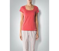 Damen Pyjama-Shirt aus Baumwoll-Stretch