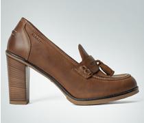 Damen Schuhe Pumps im Collegestil