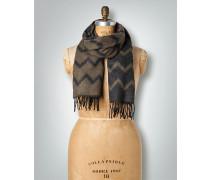 Damen Schal im Zickzack-Muster