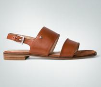 Damen Schuhe Sandale mit breiten Riemen