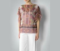 Damen Bluse im Poncho-Stil