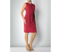 Damen Kleid mit Faltendetails am Ausschnitt