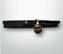 Damen Gürtel Gürtel mit Logo-Anhänger
