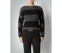 Damen Pullover im Blockstreifen-Dessin