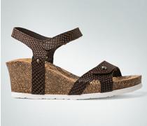 Damen Schuhe Keilsandalen mit Kleffverschluss
