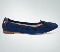 Damen Schuhe Ballerina mit Zierriegel
