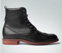 Damen Schuhe Bootie mit Lochmuster