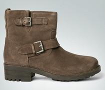 Damen Schuhe Stiefelette im Biker-Boots-Design