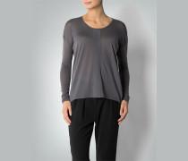 Damen Pullover mit asymmetrischer Saumlänge