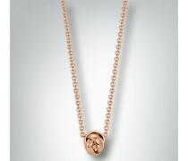Damen Schmuck Halskette mit Knoten-Anhänger