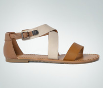 Damen Schuhe Sandale im Two Tone Look