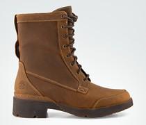 Schuhe Schnürboots aus Leder
