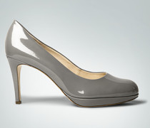 Damen Schuhe Plateau-Pumps aus Lackleder