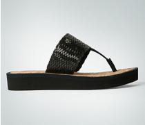 Damen Schuhe Zehensandalen mit Plateausohle