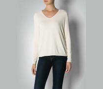 Damen Pullover mit Rücken-Schlitz