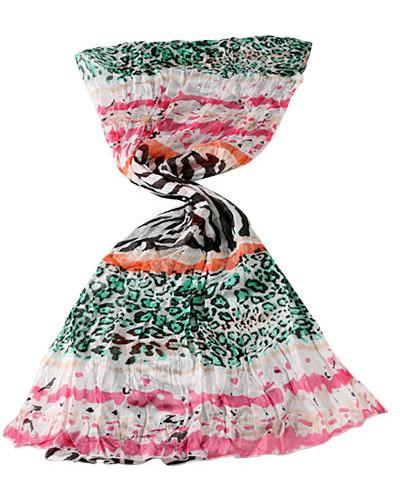 Damen Schal, Seide, pink