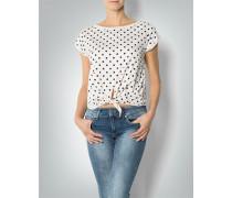 Damen T-Shirt mit Polka-Dots