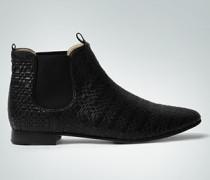 Damen Schuhe Chelsea-Boots in Flecht-Optik