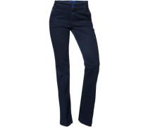 Damen Jeans Baumwolle indigo