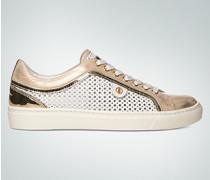 Damen Schuhe Sneaker im Metallic-Look