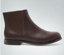 Damen Schuhe Chelsea-Boots mit Kontrast-Sohle