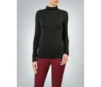 Damen T-Shirt Rollkragen-Longsleeve im cleanen Look