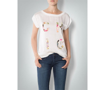 Damen T-Shirt mit Applikation