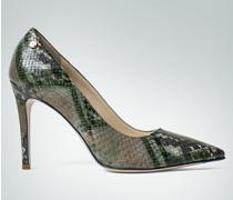 Damen Schuhe Pumps in Schlangen-Optik