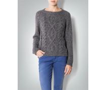 Damen Pullover mit Metallic-Effekt