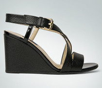 Schuhe Wedges mit Lack-Details