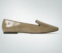 Damen Schuhe Ballerina Lackleder