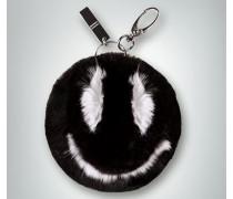 Damen Accessoires Schlüssel- und Taschenanhänger mit Smiley