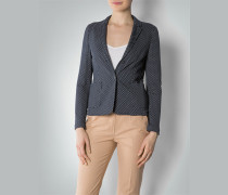 Damen Jersey-Blazer im Double Face-Look