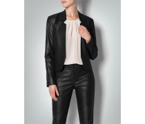Damen Blazer in Metallic-Optik