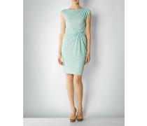 Damen Jerseykleid mit Punkte-Dessin