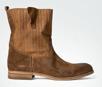 Damen Schuhe Stiefeletten aus Wildleder